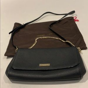 Kate Spade   Beautiful crossbody chain leather bag